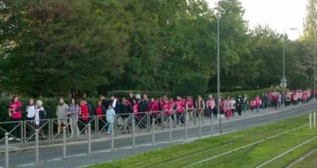 Marche caritative sur Lormont