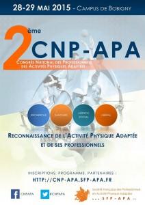 L'affiche du CNP APA 2015