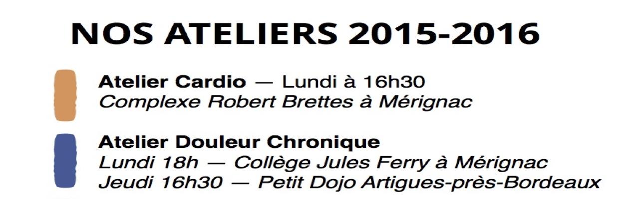 Nos Ateliers APA 2015-2016